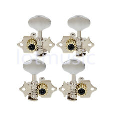 Chrome Machine Heads Tuning Pegs 2R2L for Ukulele 4 String guitar Bass Tip head