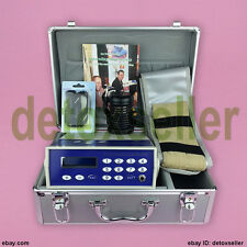 2017 DETOX MACHINE CELL ION IONIC FOOT BATH SPA CHI FIR BELT SET DHL SHIPPING