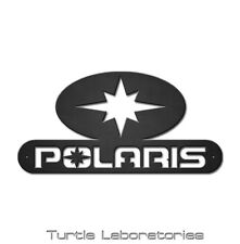 Polaris Logo Sign Metal Wall Art Hanging Home Decor Man Cave RZR