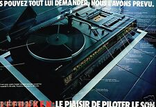 Publicité advertising 1977 (2 pages) Ampli Hi-Fi Tuner Telefunken