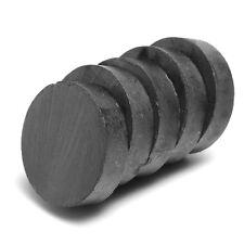 5pcs 20mm x 5mm Ferrite Aimant Puissants Magnetique Rond Disque C8 3.25 MGOe