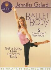JENNIFER GALARDI BALLET BODY EXERCISE DVD NEW SEALED BARRE STYLE WORKOUT FITNESS
