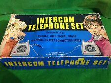 Vintage Children's toy - set -   'Intercom Telephone Set' 1960's