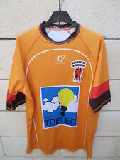 Maillot rugby porté n° 17 RC FOUSSERETOIS Now One moulant match worn shirt XXL