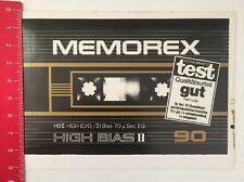 Aufkleber/Sticker: Memorex - High Bias II - 90 (05031691)