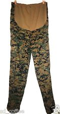 NWT USMC MARPAT Utilities MCCUU Woodland Camouflage Maternity Pants Medium Long