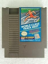 VINTAGE Nintendo NES Video Game - WORLD CLASS TRACK MEET Cartridge Only WORKING