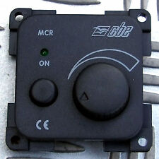 DIMMABLE 12V LIGHT SWITCH 32 WATTS MAX for CBE C-LINE SYSTEM CARAVAN GREY