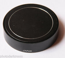 Metal for Nikon F Mount Rear Lens Cap - Made in Japan - USED V688