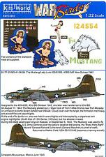 Kits World Decals 1/32 BOEING B-17F FLYING FORTRESS The Mustang