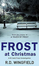 BRAND NEW FROST AT CHRISTMAS BY R D WINGFIELD PAPERBACK BOOK