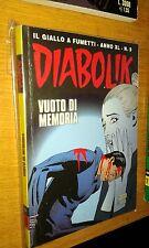 DIABOLIK ORIGINALE ANNO 40° - ANNO XL - N°  9 - VUOTO DI MEMORIA