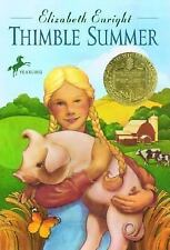Yearling Newbery: Thimble Summer by Elizabeth Enright (1987, Paperback)