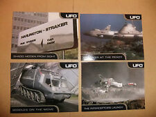 GERRY ANDERSON UFO 4 Promo card set ITC ed BISHOP SHADO CARDS INC
