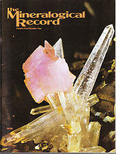 Mineralogical Record Vol.4 No.2 - March 1973 - out of print!