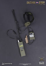 Dam Modern British Army In Afghanistan 1/6 Toy H4855 RADIO WITH HEADSET