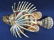 "Lion Fish Tropical Reef 8"" Wall Plaques Nautical Home Decor (A)"