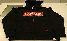 Team Canada 2014 Sochi Winter Olympics Hockey S Classic Black Full Zip Hoody