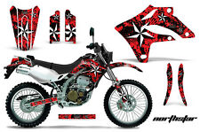 KAWASAKI KLX 250 Graphic Kit AMR Racing Decal Sticker Part KLX250 04-07 N.STAR R