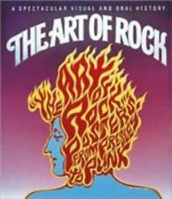 The Art of Rock: Posters from Presley to Punk, Paul D. Grushkin, Acceptable Book