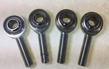 (4) Four 3/8 x 3/8-24 MALE RH ROD ENDS HEIM JOINTS HEIMS  Made In USA