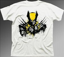 WOLVERINE X-Men Mutant Hugh Jackman white printed t-shirt 9635