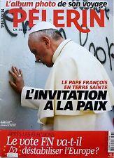 PELERIN 2014: LE PAPE FRANCOIS_Interview MARC LAVOINE_PIERRE SOULAGES
