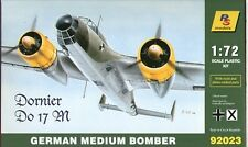 RS MODELS 92023 WWII German Medium Bomber Dornier 17M in 1:72