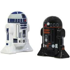 Star Wars - R2-D2 And R2-Q5 Salt And Pepper Ceramic Shakers - New & Official