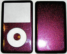 Apple Ipod Classic 6th, 7th Gen Custom Red Starlight Colored Front/Back/Button
