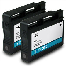 2PK Printronic HP 932 Black Ink Cartridge for OfficeJet 6100 6600 6700 7110 7610