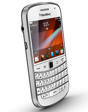WHITE AT&T Mobile Unlocked GSM BlackBerry Touch Screen Bold 3G 4G WIFI QWERTY