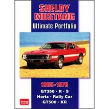 Libro De 1965-1970 Shelby Mustang Ultimate Cartera de papel