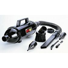 Metrovac MDV-1BAC Datavac Pro Series Portable Vacuum Cleaner, Black NEW