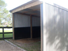 4x4 horse shelter -farm shed- storage shed - stable -  Victoria