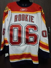 RARE NHL Reebok Authentic Florida Panthers 2006 Rookie Jersey Size 58 Goalie