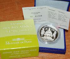 France 2006 Dome Des Invavlides 1,5 euro Silver Proof - Francia 1/2 plata silber