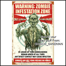 Fridge Fun Refrigerator Magnet THE WALKING DEAD: ZOMBIE INFESTATION POSTER