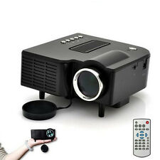 HD 1080P LED Proyector Multimedia Cine En Casa cine AV TV VGA HDMI USB SD