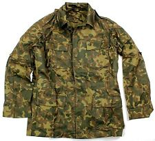 GENUINE RUSSIAN ARMY COMBAT JACKET / SHIRT in WOODLAND FLORA CAMO TYPE 2