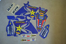 FLU  TEAM  ROCKSTAR  GRAPHICS AND WHITE BACKGROUNDS  YAMAHA YZ125 YZ250
