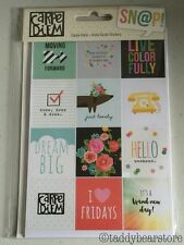 Simple Stories Carpe Diem INSTA QUOTE Stickers For Planner Organizer
