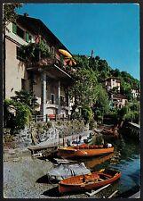 AD2606 Switzerland - Hafen von Porto Ronco mit Kirche Ronco