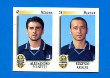 CALCIATORI PANINI 1997-98 Figurina-Sticker n. 596 -MANETTI-CORINI VERONA-New