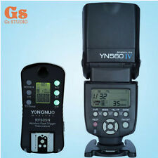 Yongnuo YN-560 IV Flash Speedlite + 1pcs Wireless Flash Trigger RF-605 LCD for N