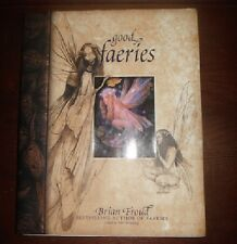 Good Faeries Bad Faeries by Brian Froud (1998, Hardcover) FREE SHIPPING!