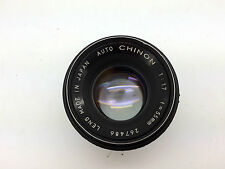 Auto Chinon 1:1.7 55mm Lens M42 Screw Mount *TESTED*