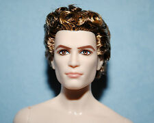 CUNNING! Curly Brunette NUDE Pale Skinned Model Muse KEN for OOAK - BARBIE