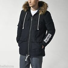 Adidas STREETWEAR ESSENTIAL PARKA Hoody Sweat Shirt Coat Winter Jacket~Men sz XL