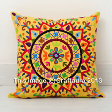 """20X20"""" Extra Large Pillow Cover Vintage Embroidered Decor Throw Pillow Cushions"""